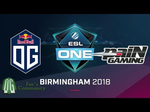 OG vs paiN Game 1 ESL One Birmingham 2018 Group Stage