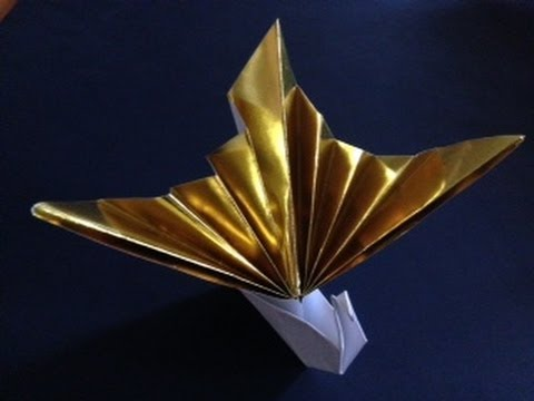 Origami Turu : 折り紙箸袋作り方鶴 : 折り紙