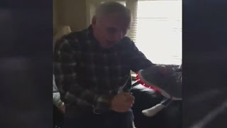 Father Has THE BEST Reaction to Shoes