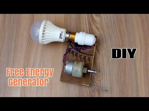 How to Make a Free Energy Generator  - Homemade thumbnail