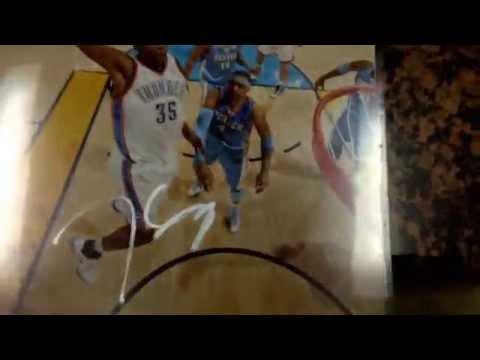 Oklahoma City Thunder IP Autograph Recap! Kevin Durant x4!