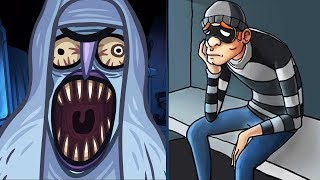 Troll Face Quest Horror Vs Robbery Bob 2 Double Trouble Advanced - Fun Trolling Gameplay Walkthrough