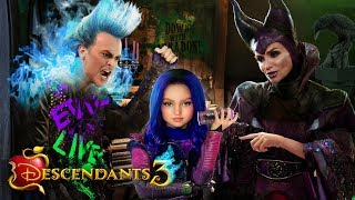 Descendants 3 Mal's Childhood! 💜🔥 Mal as a child with Maleficent and Hades! | Alice Edit!