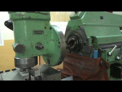 Как снять шпиндельную головку с фрезерного станка