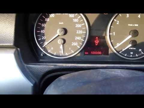 How to reset BMW 3-serie E90 service lights. Manual gearbox. Years 2005 to 2012.  Do it self.