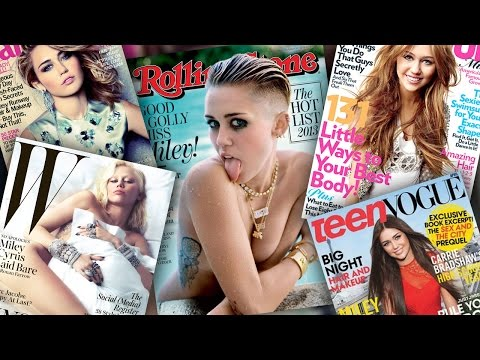 6 Most Shocking Miley Cyrus Magazine Covers