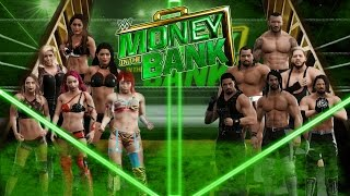 wwe2k Universe Mode I The Reality Era (Money In The Bank 2 PPV)