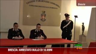 video Brescia: arrestato bullo di 16 anni