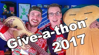 Give-A-Thon 2017 Announcement!!