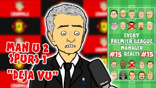🎤Man Utd beat Mourinho!🎤 #15 Every Premier League Manager Reacts! 19/20