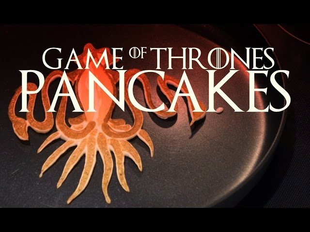 Game of Thrones ...pancakes?