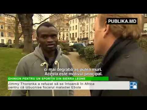 GHINION pentru un sportiv din Sierra Leone. Motivul pentru care a trăit ca un boschetar