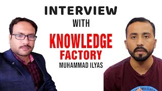 knowledge Factory Interview With Tamoor Pardasi