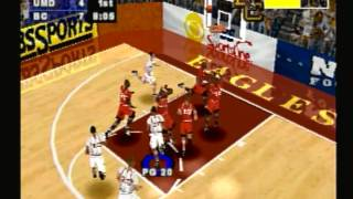 EA Sports March Madness 98 (Playstation) Game Play