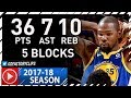 Kevin Durant Full Highlights Vs Pistons 2017 12 08 36 Pts 10 Reb 7 Ast 5 Blocks mp3