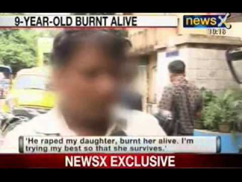 NewsX: Girl burnt alive when resists molestation by a 20 year old neighbour