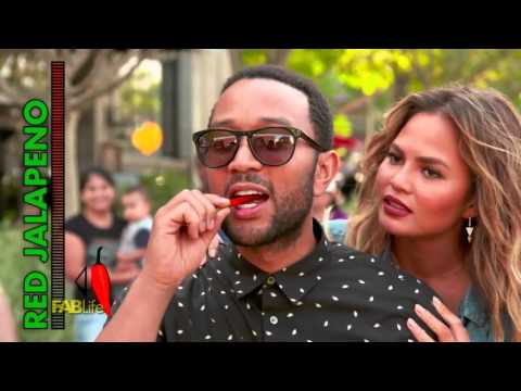 Take on Teigen: Hot Pepper Challenge with John Legend