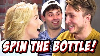 WEIRD SPIN THE BOTTLE CHALLENGES w/ DAMIEN (Squad Vlogs)