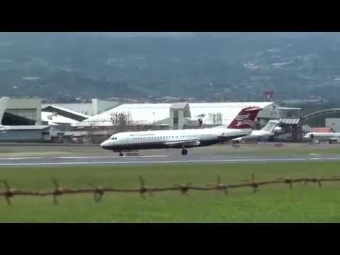 Despegues y Aterrizajes en el Juan Santamaria | Airplanes Landings & Take-Offs | Parte 2