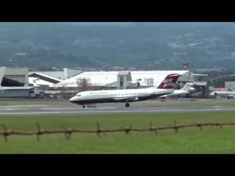 Despegues y Aterrizajes en el Juan Santamaria | Airplanes Landings & Take-Offs | Parte 2