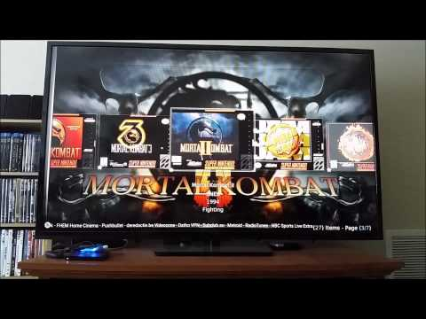 Amazon Fire TV Running XBMC with Eminence Skin