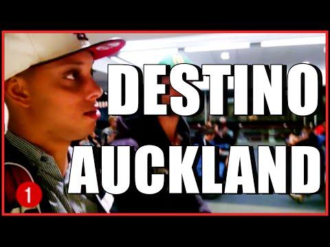Vlog 2-  Saida do aeroporto, perda do passaporte,Chegando em Auckland, Nova Zelândia