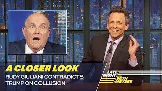 Rudy Giuliani Contradicts Trump on Collusion: A Closer Look