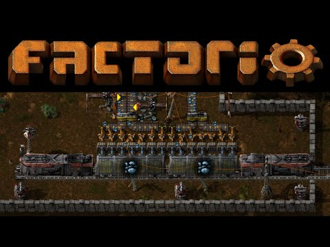 Factorio #6 - Train Transport Tutorial