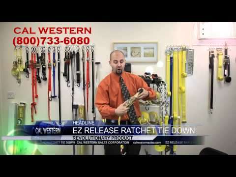 0 ez release ratchet tie down