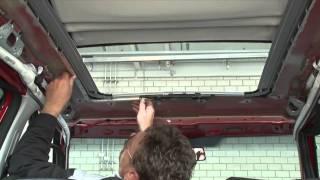 Teto Solar - Instalação passo-a-passo! Webasto