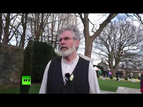 'Remarkable Pride' – Sinn Fein leader Gerry Adams on 1916 Rising commemoration