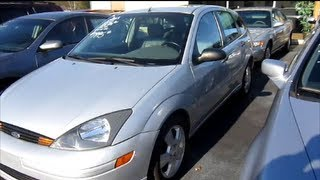 2003 Ford Focus ZX5 Start Up, Engine & Full Review