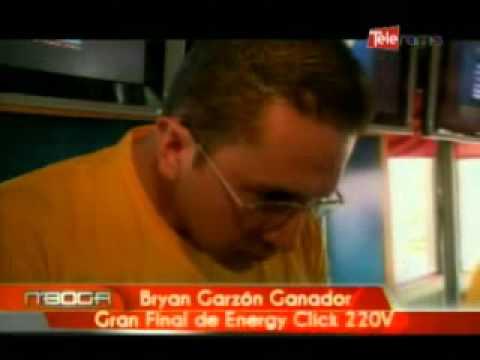 Bryan Garzón Ganador Gran Final de Energy Click 220V
