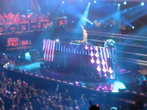 David Guetta Titanium Z100 Jingle Ball Madison Square Garden New York Ny 12 9 11 Youtube
