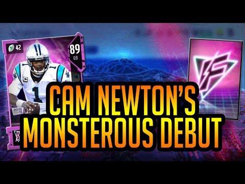 Madden 18 Ultimate Team :: 89 Flashback Cam Newton MONSTROUS Debut! :: Madden 18 Ultimate Team