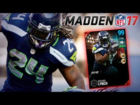 "MUT 17 || 99 MARSHAWN LYNCH ""BEAST MODE"" GAMEPLAY VS TOP 100 OPPONENT 