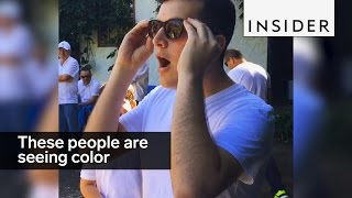 These people are seeing in color for the first time
