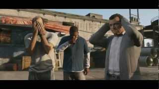 Grand Theft Auto V Official Trailer 2 HD 720P