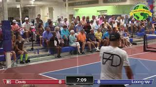 Pickleball Global Challenge Cup 2019 Frank Anthony Davis VS Tyler Loong Men's Singles