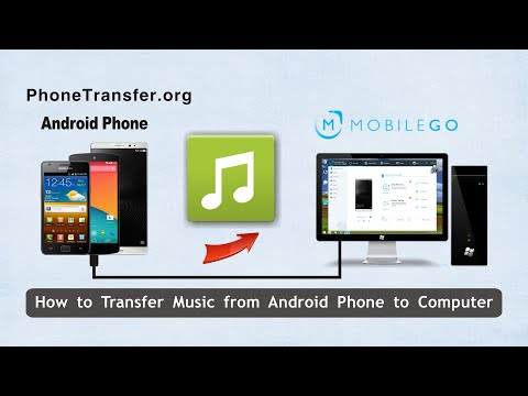 How to Transfer Music from Android Phone to Computer, Backup Android Songs to PC