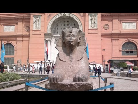 Egyptian Museum, Museum of Cairo, Museum of Egyptian Antiquities, Cairo, Egypt,