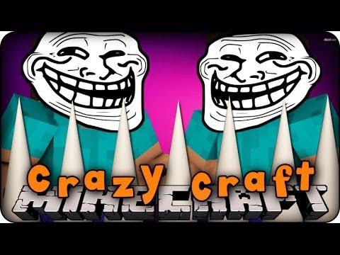 Minecraft Mods - CRAZY CRAFT 2.0 - Ep # 45 'TROLLING TRAPS!!' ( Orespawn Mod)