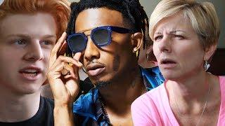 Mom reacts to Playboi Carti - Magnolia