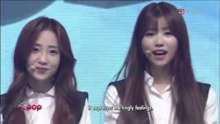 151016 러블리즈(Lovelyz) - 작별 하나(Shooting Star) + Ah Choo @ Simply K-pop