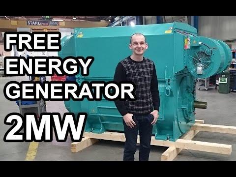 Free Energy Generator 2MW