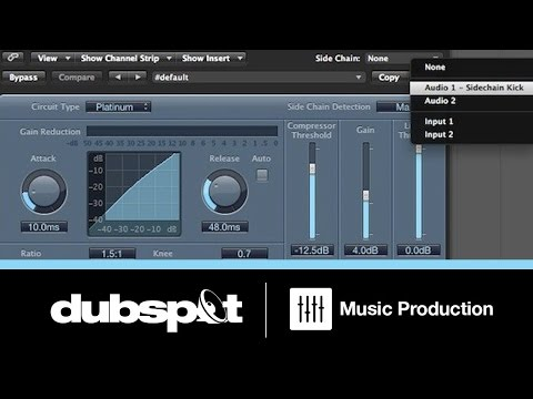 Logic Pro Tutorial: Using Side Chain Compression - Tips & Tricks