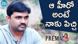 Director Maruthi About His Favourite Hero || Dialogue With Prema || Celebration Of Life