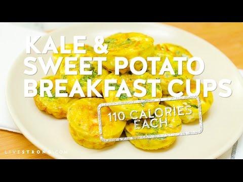 Kale & Sweet Potato Breakfast Cups