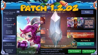 Mobile Legend | NEW PATCH 1.2.02| EVERYTHING IN 5 MINS