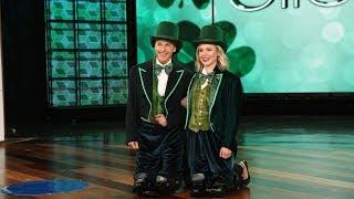 Download Lagu Ellen Says 'Cheers' to St. Patrick's Day! Gratis STAFABAND